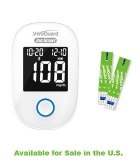 Able Diagnostics Vivaguard Bluetooth Blood Glucose Monitoring System